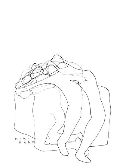 Kiro Urdin - Drawings _ 46